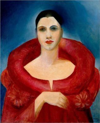 Tarsila do Amaral (1886-1973) – Autoportrait (1923) Museu Nacional de Belas Artes, Rio de Janeiro