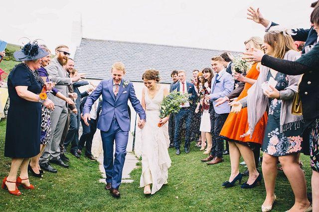 Bunte Boho Hochzeit am Meer von John Wellings   Hochzeitsblog - The Little Wedding Corner