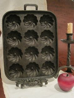 1000+ images about Cast Iron Gem and Muffin Pans on Pinterest ...