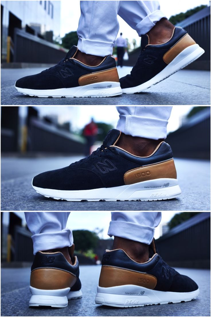 ON-FOOT LOOK // NEW BALANCE 1500 DECONSTRUCTED BLACK/TAN