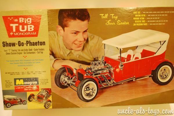 vintage monogram model car kits - Google Search