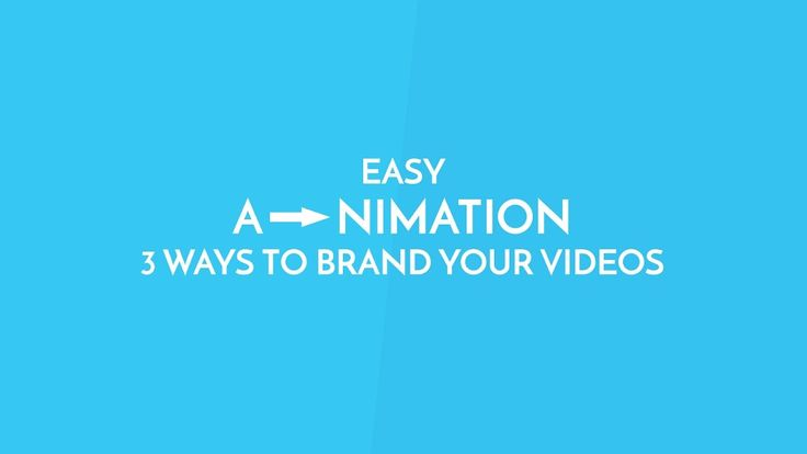 Easy Animation - 3 Ways To Brand Your Videos