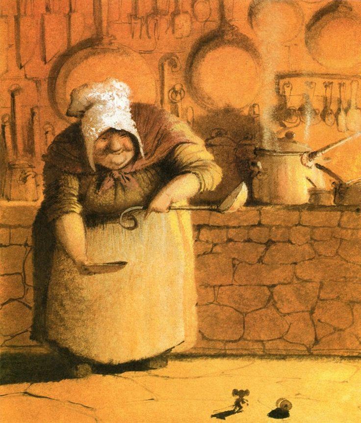'The Tale of Despereaux' -  by artist Igor Oleynikov <> (fairytales, nursery rhymes, classics, art, illustrations, children)