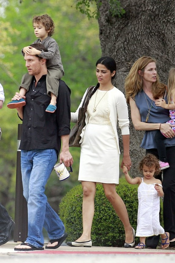 matthew mcconaughey and family