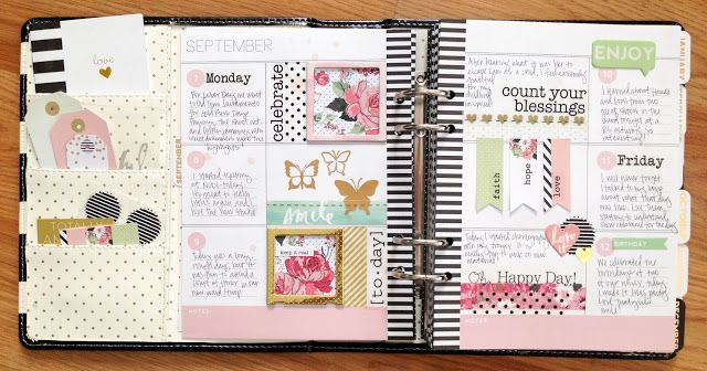 September Memory Planner Pages - SRM Stickers