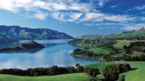 Akaroa � a haven for holidaymakers and Hector's dolphins
