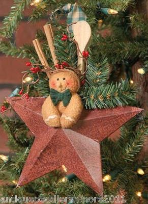 gingerbreadman on star