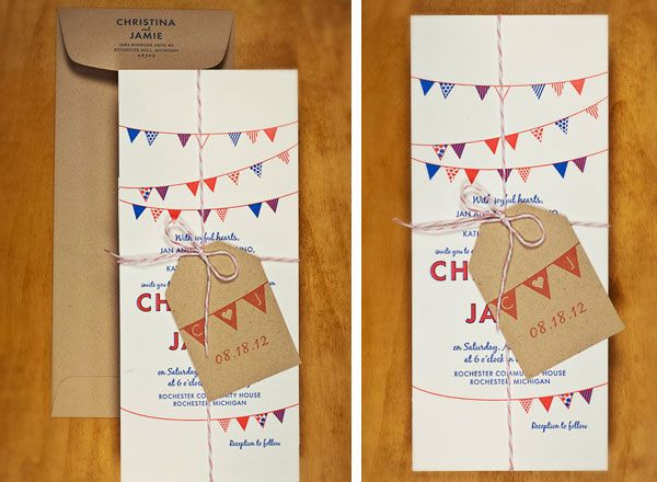 Bunting Wedding Invite: 1000+ Ideas About Bunting Invitation On Pinterest