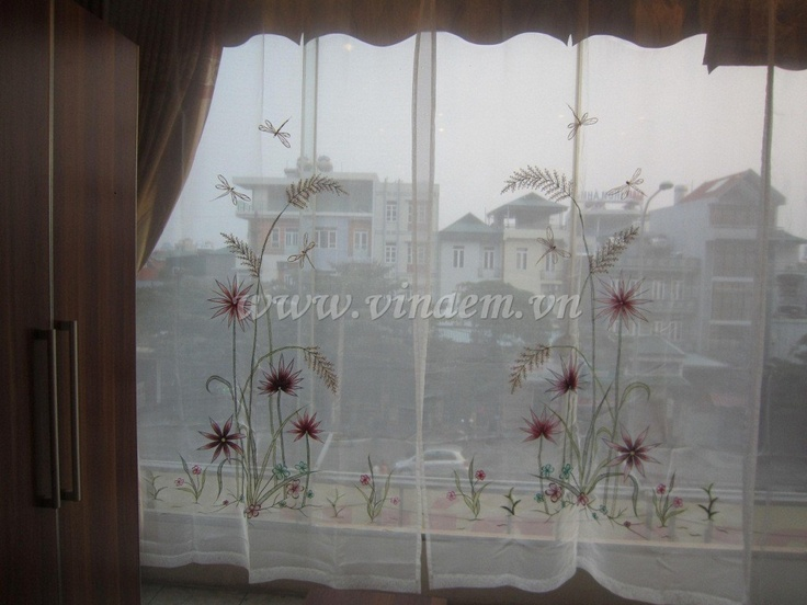 22 best embroidery curtain images on pinterest curtains vietnam vietnam hand embroidery curtain 004 httpvinaem ccuart Gallery