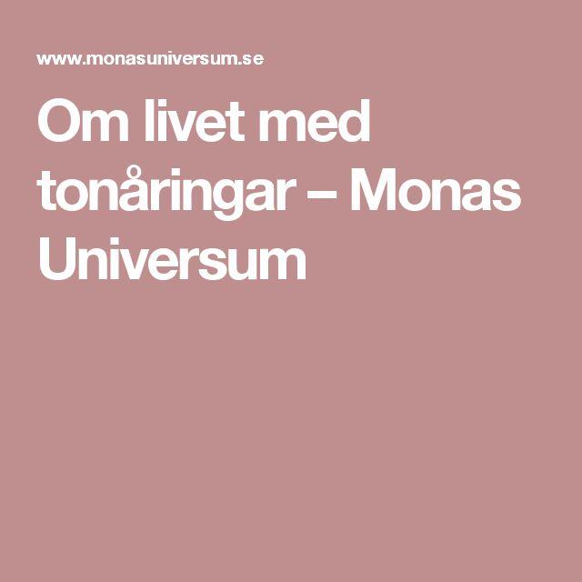 Om livet med tonåringar – Monas Universum