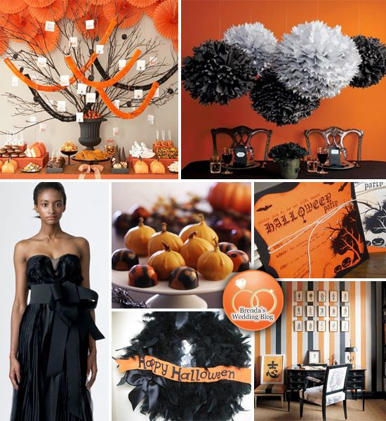 With Halloween Just Around The Corner, There Are So Many Inspiring Ideas  For A Halloween Themed Wedding. It May Be The Simple Use Of Orange. Part 95