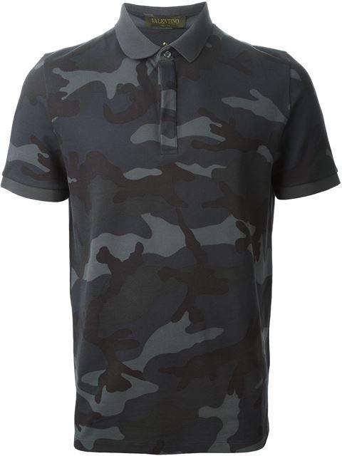 ショッピング Valentino Rockstud 迷彩柄 ポロシャツ in A.M.R. 世界有数のセレクトショップが集まるfarfetch.com。300以上のセレクトショップから、1000以上の有名ブランドアイテムを楽々ショッピング。
