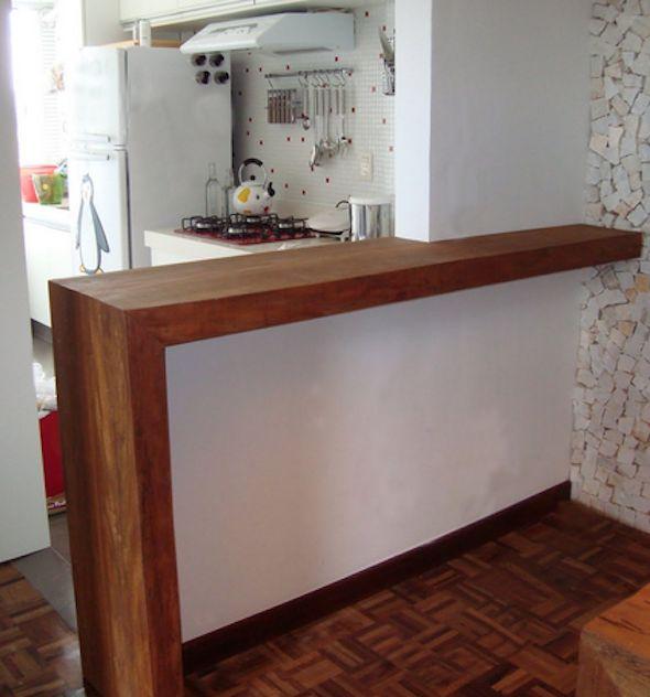 Bancadas de madeira na cozinha14