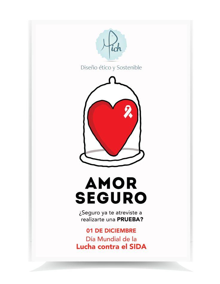 Poster Día Mundial del VIH | 01 de Diciembre