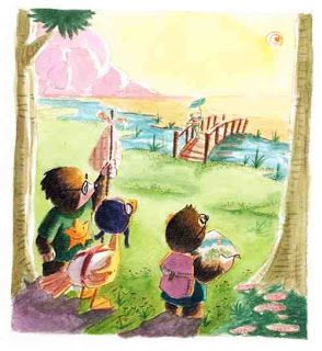 juanbjuan children illustration: topos8