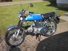 1971 HONDA FURY 50CC My first bike, age 15