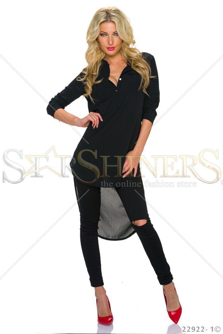 Trendy Style Black Shirt