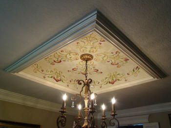 17 best images about tray ceilings on pinterest smoking for Ceiling mural in smokers lounge