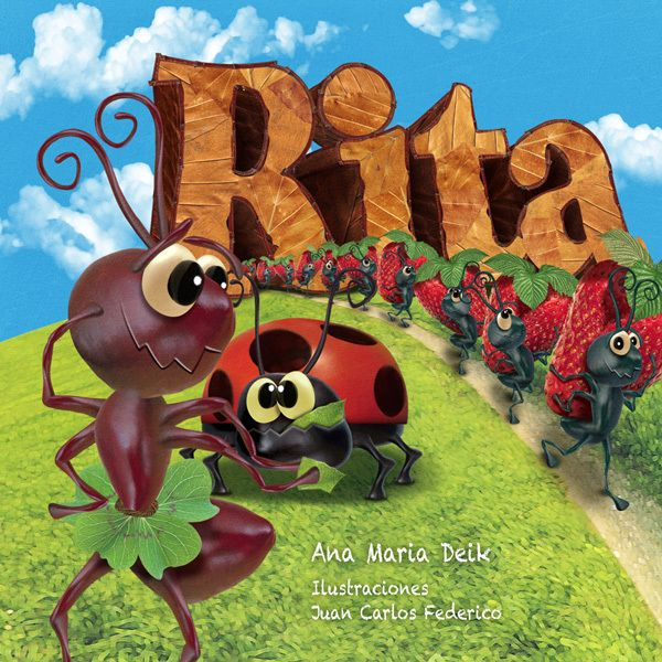Rita by Juan Carlos Federico, via Behance