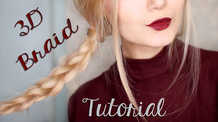 Easy 3D Braid Hair Tutorial For School – #Braid #Easy #Hair #School #Tutorial