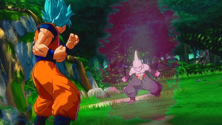 Super Saiyan Blue Goku Meets Kid Buu and Other Enemies of the Past in Dr...