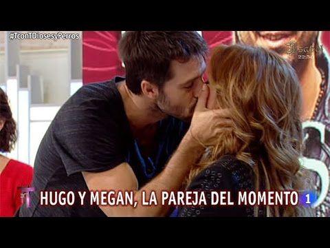 Momentazo: ¡Hugo Silva besa a Toñi Moreno!