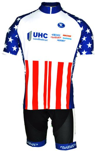 United HealthCare USA National Champ Jersey.  Made in Italy by Vermarc!