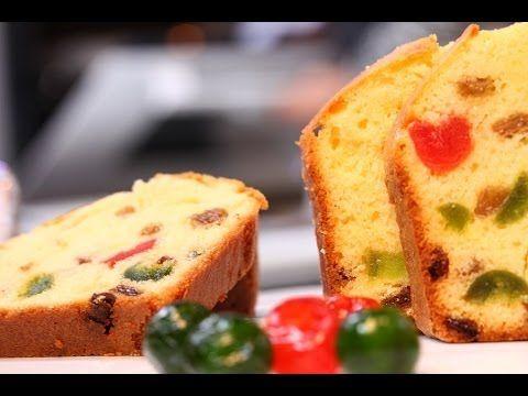 Choumicha : Cake aux fruits confits (VF)