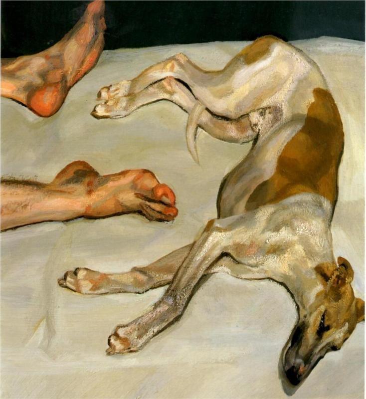 Lucian Freud Eli (2002)