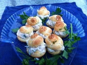 Chicken Salad Puffs | F-O-O-D!!! | Pinterest