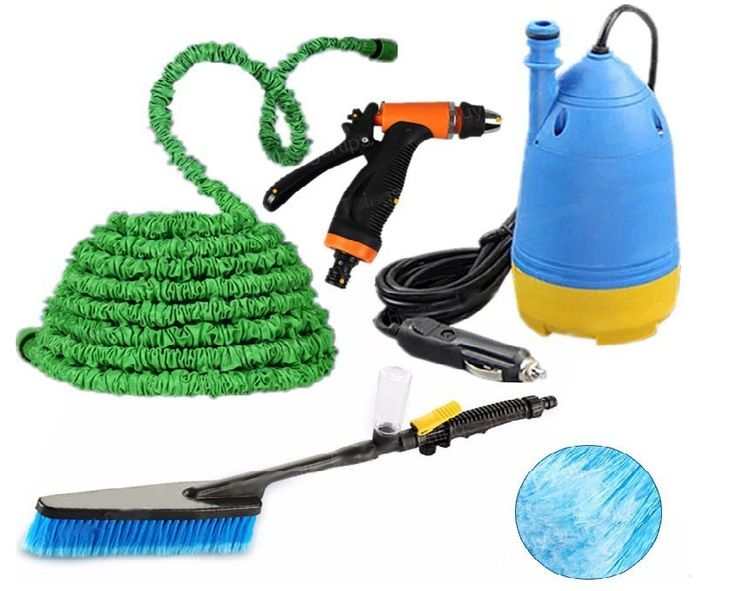 Hordozható, szivargyújtós házi vízborotva készlet autómosáshoz, kerti...-Akciós ár:9990 Ft
