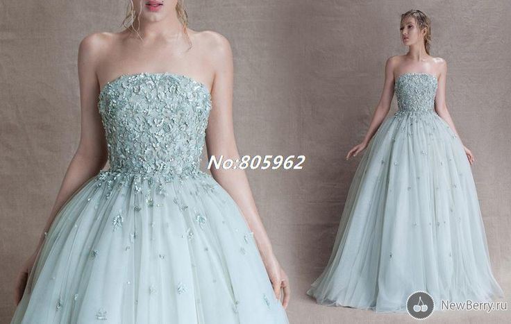 2014 New Arrival Scoop Ball Gown Appliques Sequins Long Evening Dress Tulle vestido de festa Prom Gowns Strapless With Train D40 $229.99