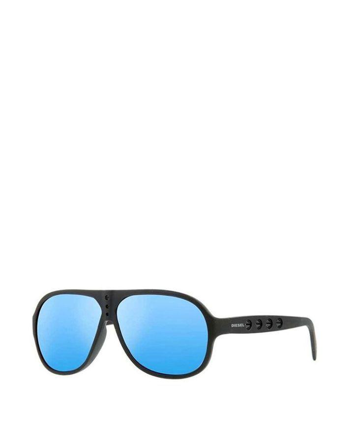 Tendance lunettes : Occhiale da sole uomo  Nero DIESEL  Primavera Estate  titalola.com