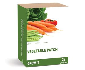 €16,90 Gift Republic Grow It Vegetable Patch - vihannesten kasvatussetti