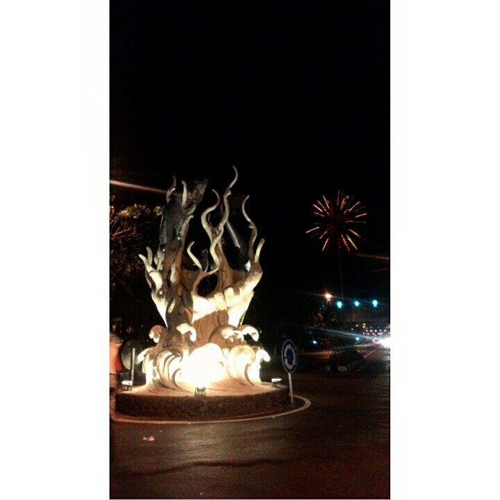 Monument.  Lamongan district.