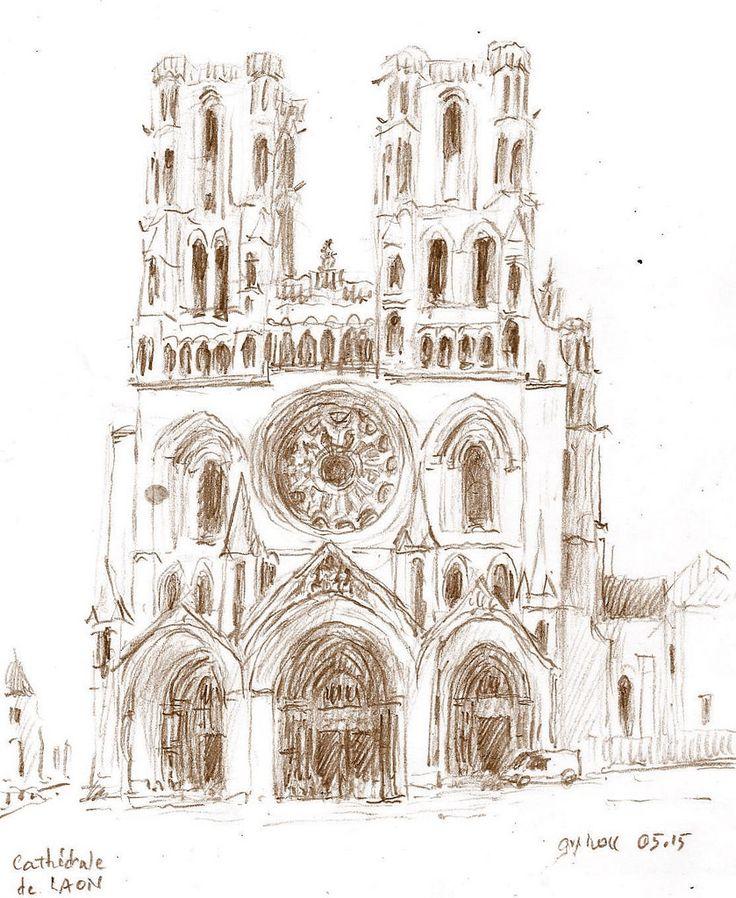 Laon - France - cathédrale