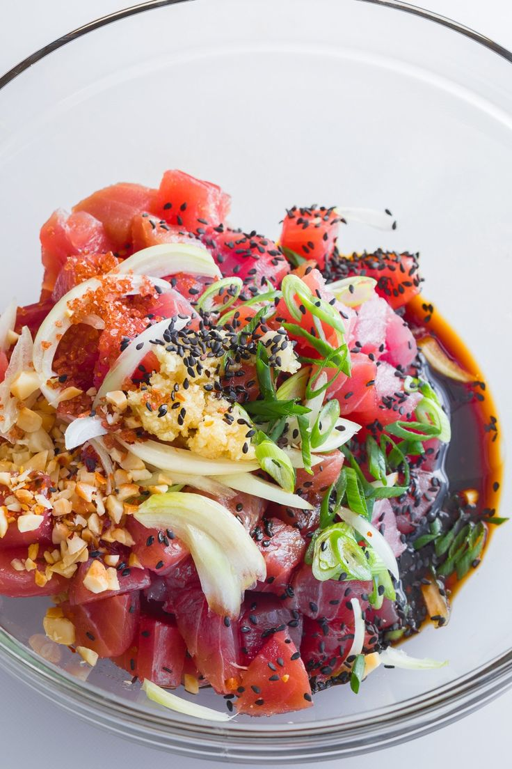 How To Make the Best Ahi Poke — Cooking Lessons from The Kitchn