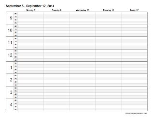 Appointment Scheduling Template | Teaching | Pinterest ...