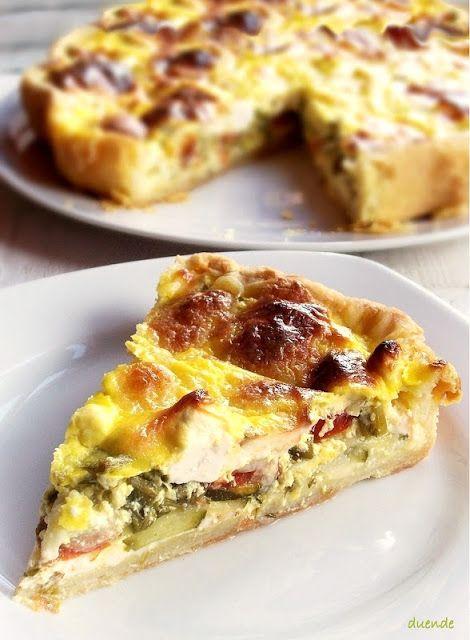 Cukkinis torta (pite, quiche)