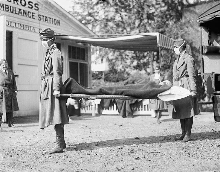 Dinge en Goete (Things and Stuff): This Day in World War 1 History: Mar 11, 1918 First cases reported in deadly influenza epidemic
