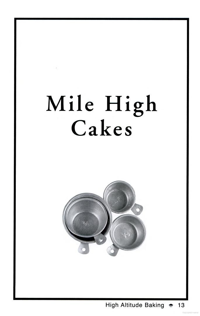 High Altitude Baking: 200 Delicious Recipes & Tips for Perfect High Altitude ... - Google Books