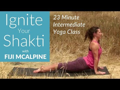 Ignite Your Shakti Yoga Class with Fiji McAlpine - YouTube