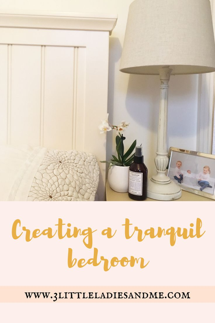 how to create a tranquil bedroom