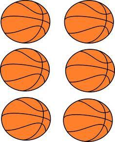 Half Basketball Clip Art Free Downloadable