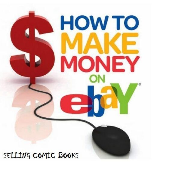 How to make $1000 + Per Month on Ebay selling Comic Books - Personal Guide Ebook