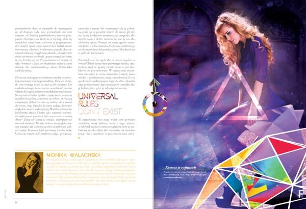 F Magazine by Bartosz Kwiecień, via Behance
