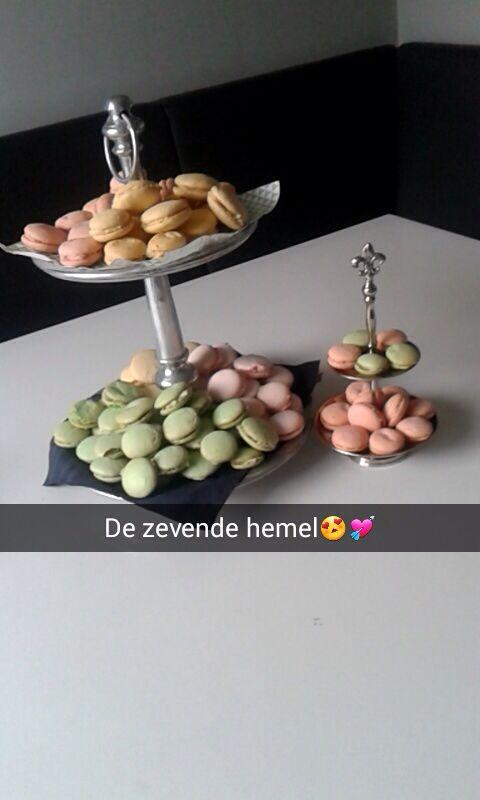 Macarons voor eva's 12e verjaardag