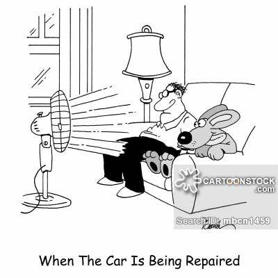 Auto Repair cartoons, Auto Repair cartoon, funny, Auto