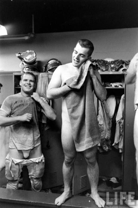 Apologise, Soccer players locker room underwear ideal answer