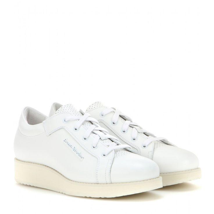 Acne Studios - Kobe leather sneakers  www.mytheresa.com